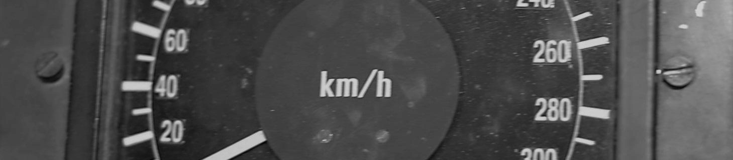 Geschwindigkeitsanzeige, Bahntechnik, Bahnbetrieb