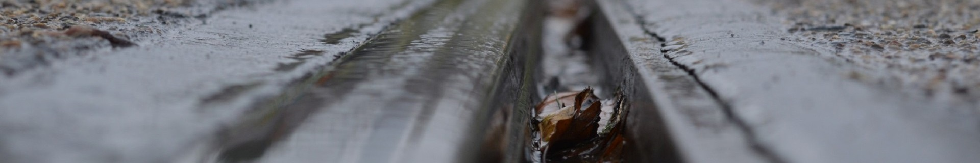 nasse Rillenschiene, Bahntechnik, Bahnbetrieb