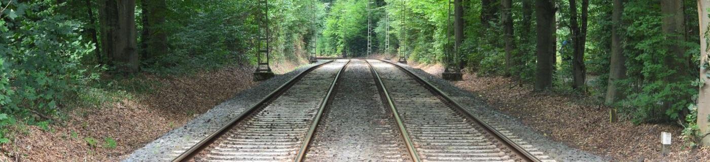 Strecke mit Lichtung, Bahntechnik, Bahnbetrieb