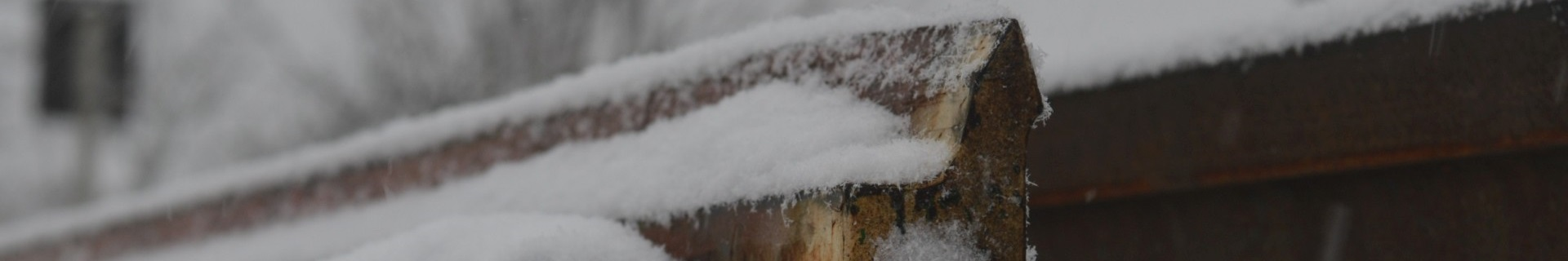Weichenzunge im Winter , Bahntechnik, Bahnbetrieb