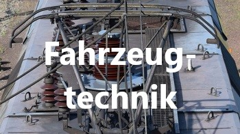 Halbscherenstromabnehmer, Fahrzeugtechnik, Themen, Bahntechnik, Bahnbetrieb