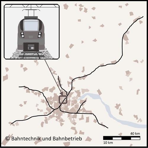 S-Bahnnetz, Karten, Bahntechnik, Bahnbetrieb