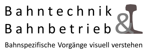 Bahntechnik und Bahnbetrieb Logo schwarz, Bahntechnik, Bahnbetrieb
